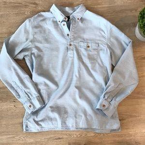 J.crew men's 3 Button pullover